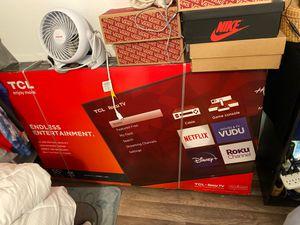 55 inch TLC Roku smart tv for Sale in Richmond, CA