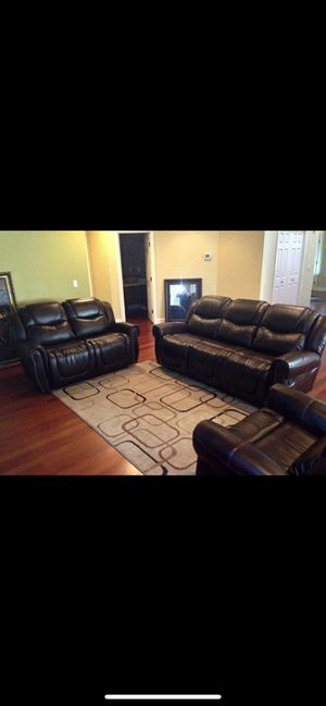 Brown Leather Recliners ! for Sale in Portland, OR