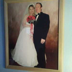 Wedding dress, 2 veils & shoes for Sale in Overbrook, WV