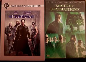 The Matrix Set DVDS for Sale in Upland, CA
