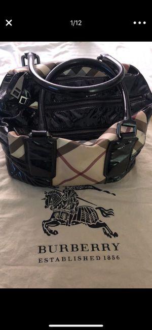 Burberry nova check bowling bag original for Sale in Las Vegas, NV