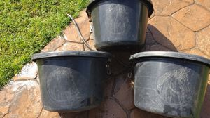 Water buckets with auto off for livestock. for Sale in Madera, CA