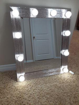 Vanity Mirror with lights for Sale in San Bernardino, CA
