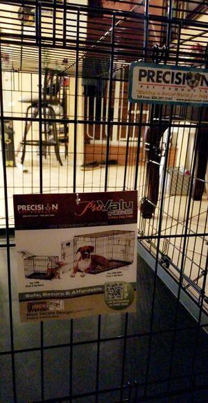 Precision 2 door dog crate for Sale in Dallas, TX