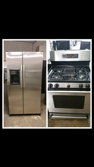 GE stainless steel set for Sale in Brooklyn, NY