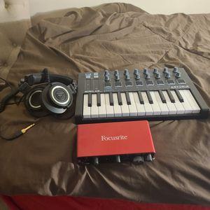 Studio Midi Keyboard, Auto Interface for Sale in Laurel, MD