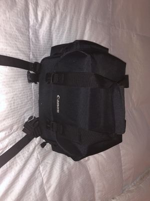 Canon camera bag for Sale in West Palm Beach, FL