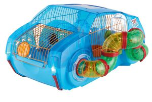 Light up hamster, gerbil, or mouse house/cage with wheel for Sale in Elma, WA