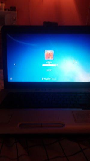 Toshiba laptop-runs on windows 7 for Sale in Trenton, NJ