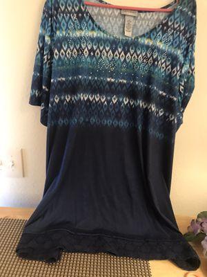 Women's tops size 3X for Sale in Sun City, AZ