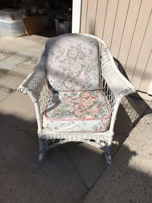 Wicker Chair Antique for Sale in Newport Beach, CA