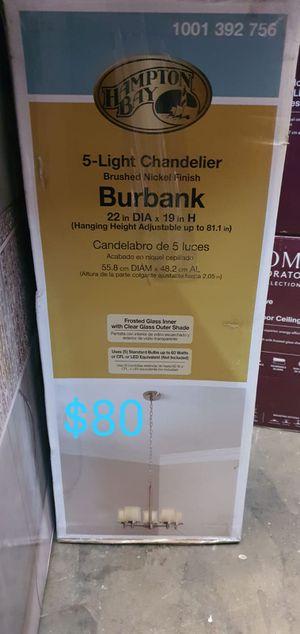Burbank 5 light chandelier for Sale in Bakersfield, CA