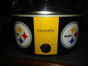 Steelers crock pot base only with lid for Sale in Willow Street, PA