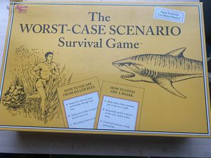 The worst-case scenario survival game for Sale in Riverside, CA