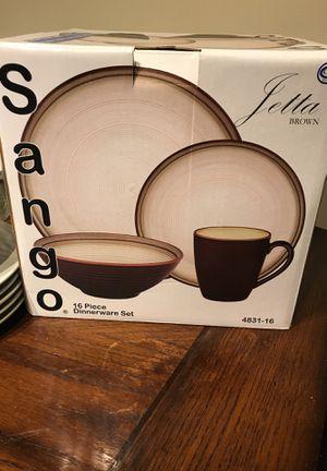 Sango 16 Piece Dinnerware Set - NEW for Sale in Greenville, SC