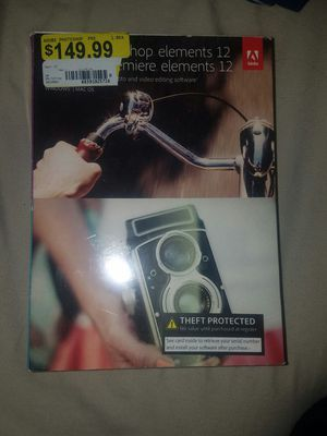 Photoshop Elements Premier 12 for Sale in Newark, OH