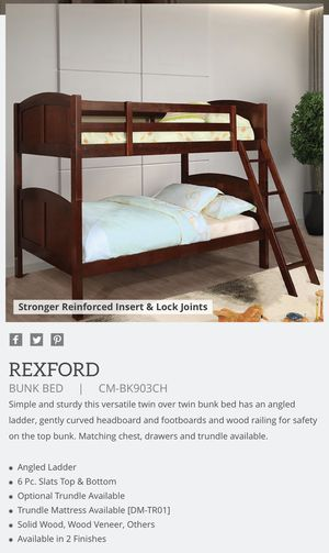 Twin/twin - Bunk bed for Sale in Clovis, CA