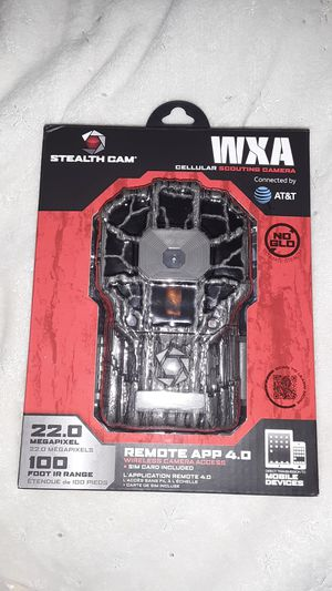 WXA Cellular Scouting Camera/Stealth Cam for Sale in Spokane, WA