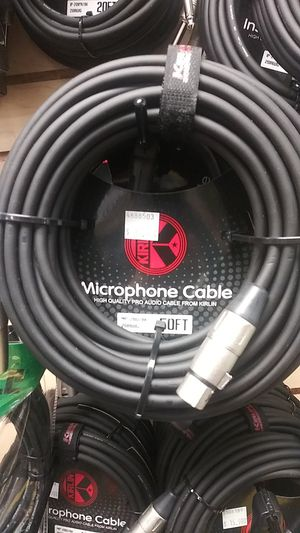 Kirlin 50ft Microphone Cable for Sale in Downey, CA