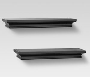 2 Black wall shelves for Sale in Wesley Chapel, FL
