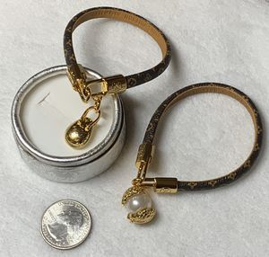 Leather bracelet with charms for Sale in Las Vegas, NV