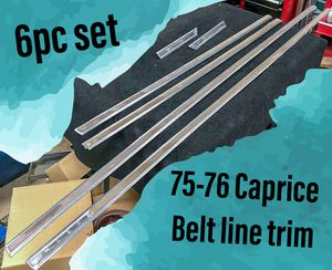 1975-1976 Chevy Caprice Belt Line Trim for Sale in Los Angeles, CA