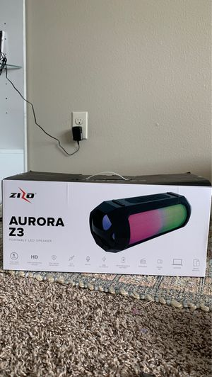 PORTABLE LED BLUETOOTH SPEAKER for Sale in Puyallup, WA