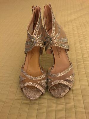 Heels silver for Sale in Alexandria, VA