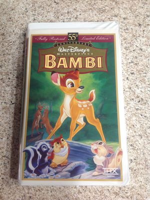 Bambi VHS $34.00 ( FINAL PRICE ) for Sale in Las Vegas, NV