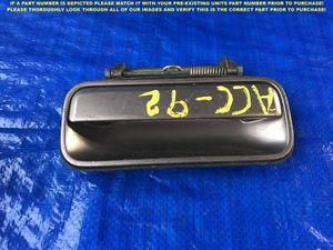 OEM 1991 1992 1993 HONDA ACCORD SEDAN DRIVER LEFT REAR EXTERIOR DOOR HANDLE for Sale in Los Altos, CA