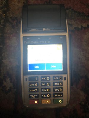 First Data FD 410 Great price for Sale in Springfield, VA
