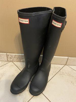 Women's hunter rain boots size 8 for Sale in Glendora, CA