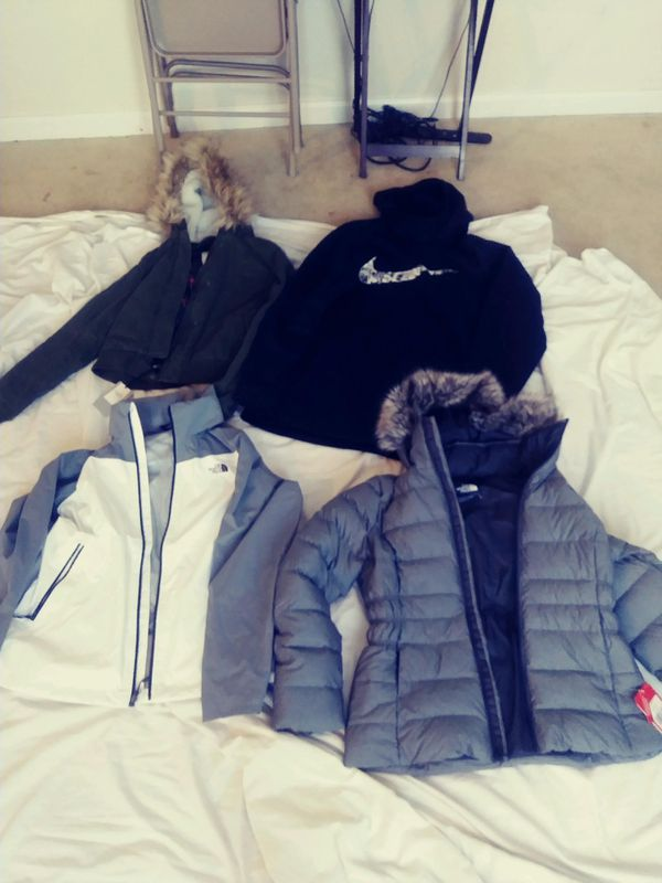 North face hillster and nike
