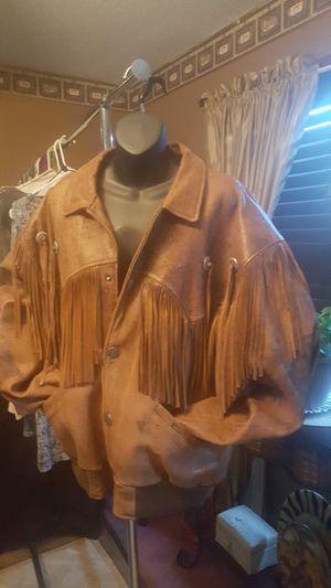 Leather jacket for Sale in Burlington, NC