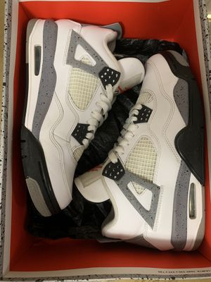 Air Jordan 4 white cement sz 7.5 for Sale in Hialeah, FL