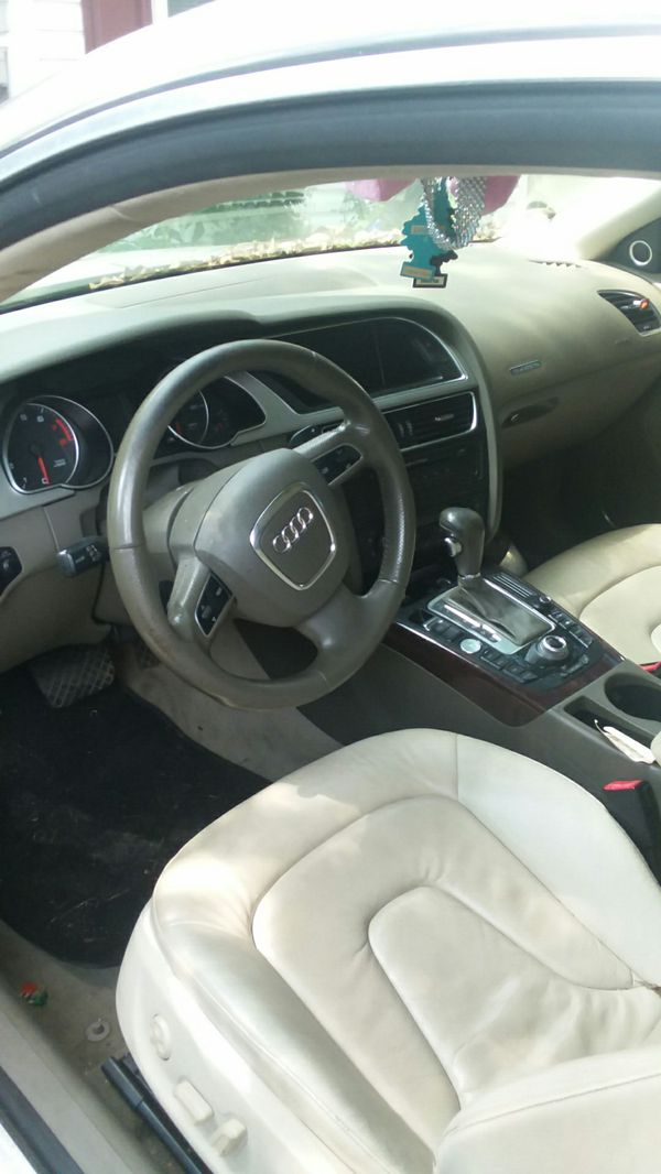 Audi a5 parts car no title 500 or best offer interior mint navigation cooled and heated seats led head lights