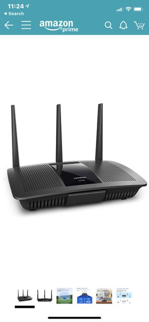Linksys Dual-Band WiFi Router for Home (Max-Stream AC1750 MU-MIMO Fast Wireless Router) for Sale in Arlington, VA