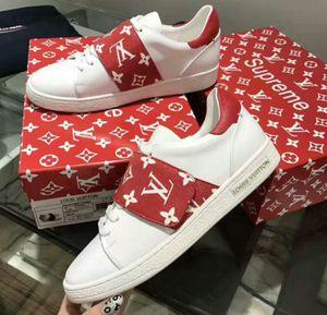 LV supreme sneakers for Sale in Merrillville, IN