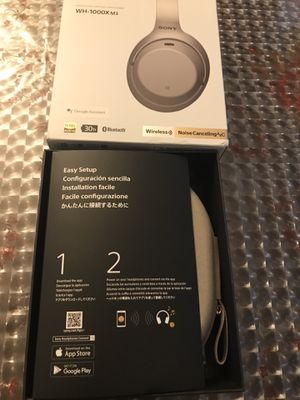 New Sony wireless headphones WH-1000XM3 for Sale in Dearborn Heights, MI