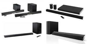 Soundbar with Wireless Subwoofer Sound Bar System / Vizio / Sony / LG / Klipsch / Samsung / JBL for Sale in Miami, FL
