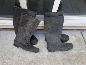 Rubber concrete boots for Sale in Modesto, CA