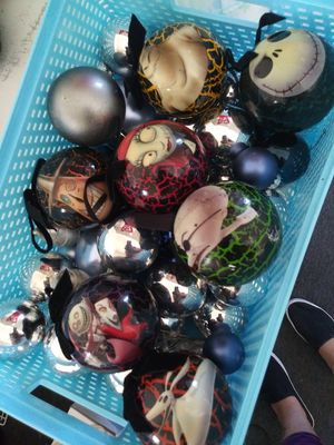 The nightmare before christmas ornaments for Sale in Compton, CA
