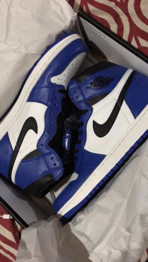 Game royals Jordan Retro 1's deadstock never worn only laced up, size 12 for Sale in Boston, MA