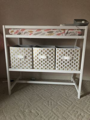 White changing table for Sale in Mt. Juliet, TN