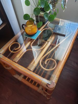 Bamboo Side Table for Sale in Seattle, WA