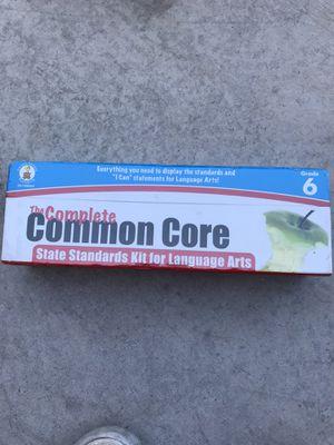 6th grade common core LA standards for Sale in Peoria, AZ