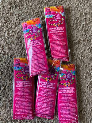 Trolls friendship bracelet packets for Sale in Long Beach, CA