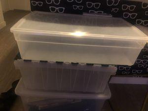 40 quart storage tote - free for Sale in Kirkland, WA