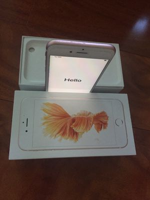 Fully unlocked iPhone 6 S 16gb mint condition for Sale in University Place, WA