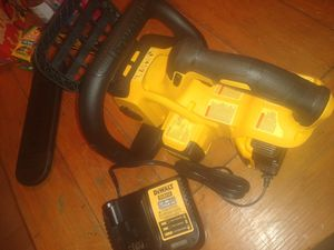 DeWalt chainsaw 5.0 battery charger for Sale in San Antonio, TX